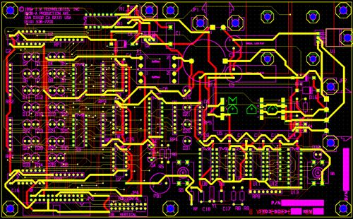 Electronic Circuit Design Pcb Layout Ultraviolet